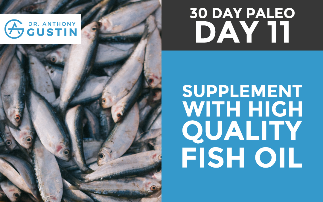 30 Day Paleo: Day Eleven - Supplement With High Quality Fish Oil
