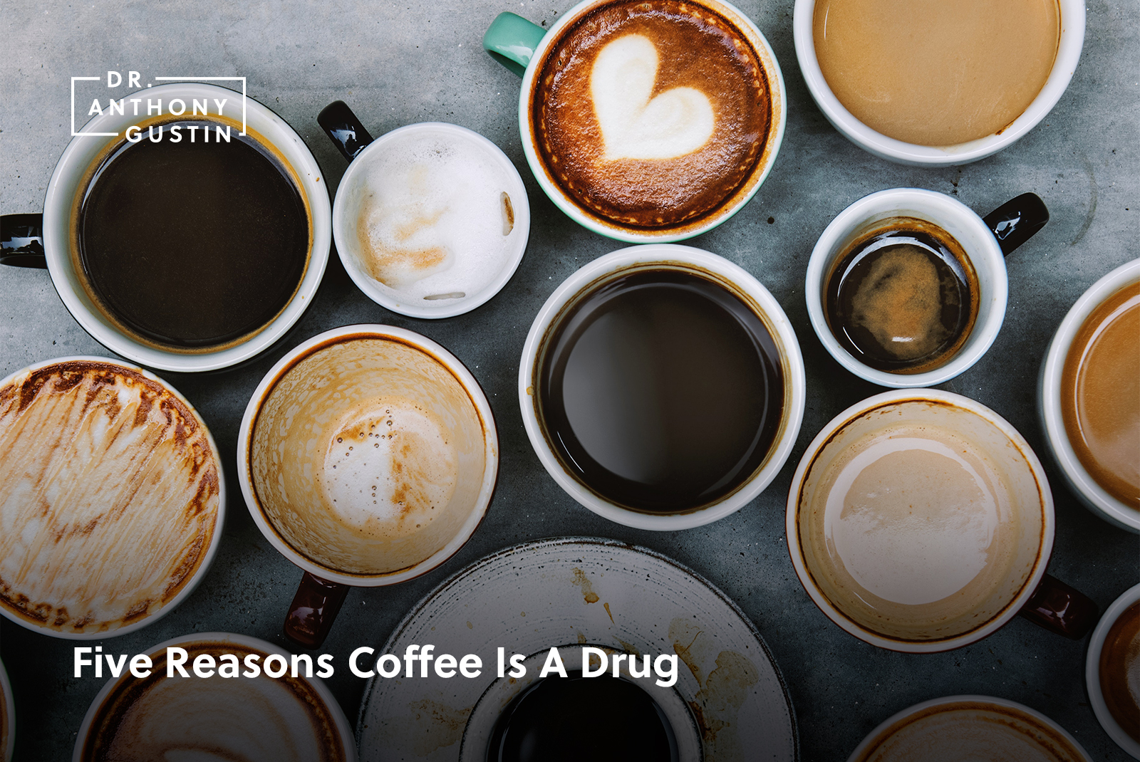 Five Reasons Coffee Is A Drug