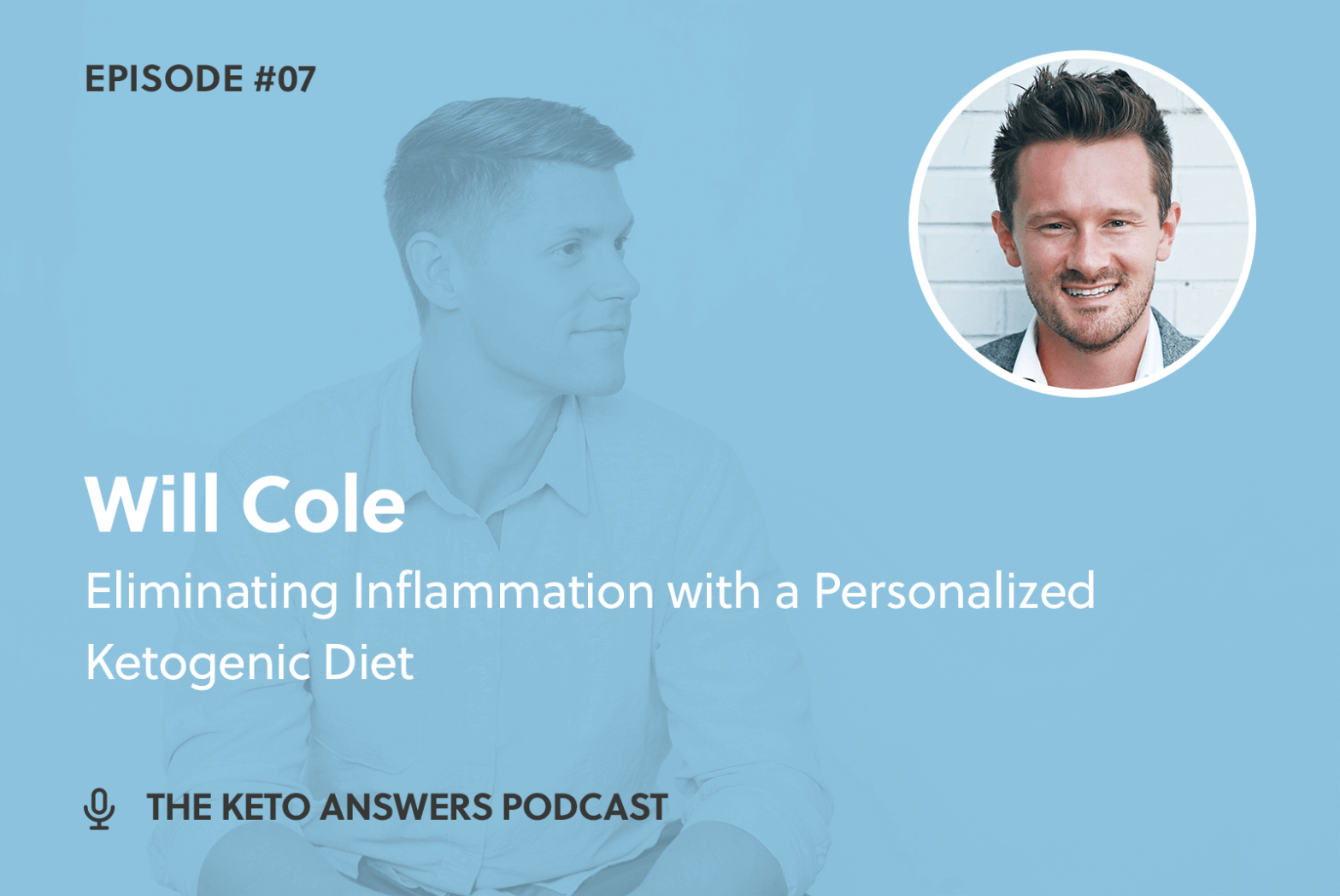 007: Eliminating Inflammation with a Personalized Ketogenic Diet - Dr. Will Cole
