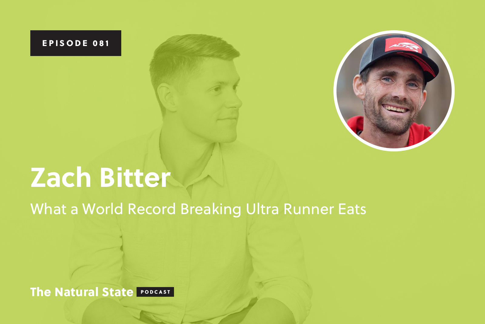 081: Zach Bitter - What a World Record Breaking Ultra Runner Eats